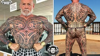 Video Bodybuilder Spends $7000 Getting His ENTIRE Body Tattooed In Just A Year download MP3, 3GP, MP4, WEBM, AVI, FLV Juni 2018