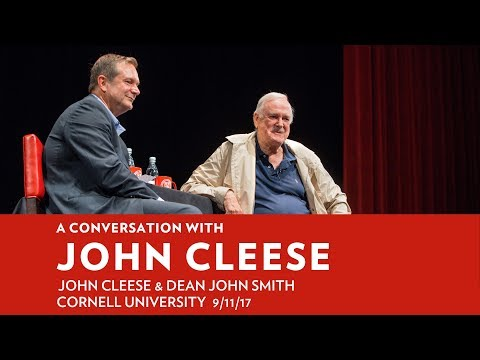 John Cleese Revisits His 20 Years as an Ivy League Professor in His New Book, Professor at Large: The Cornell Years
