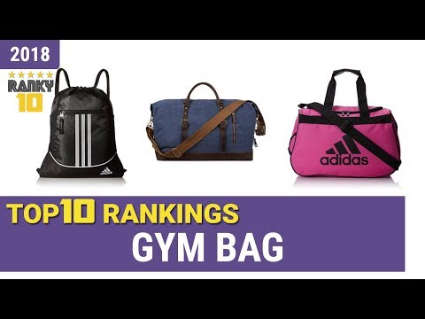 Best Gym Bag Top 10 Rankings, Review 2018 & Buying Guide