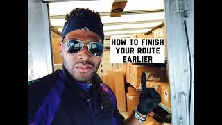 HOW TO FINSIH YOUR ROUTE EARLIER! (VLOG)