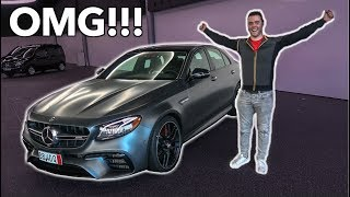 FINALLY TAKING DELIVERY OF MY 2018 MERCEDES AMG E63S!!!