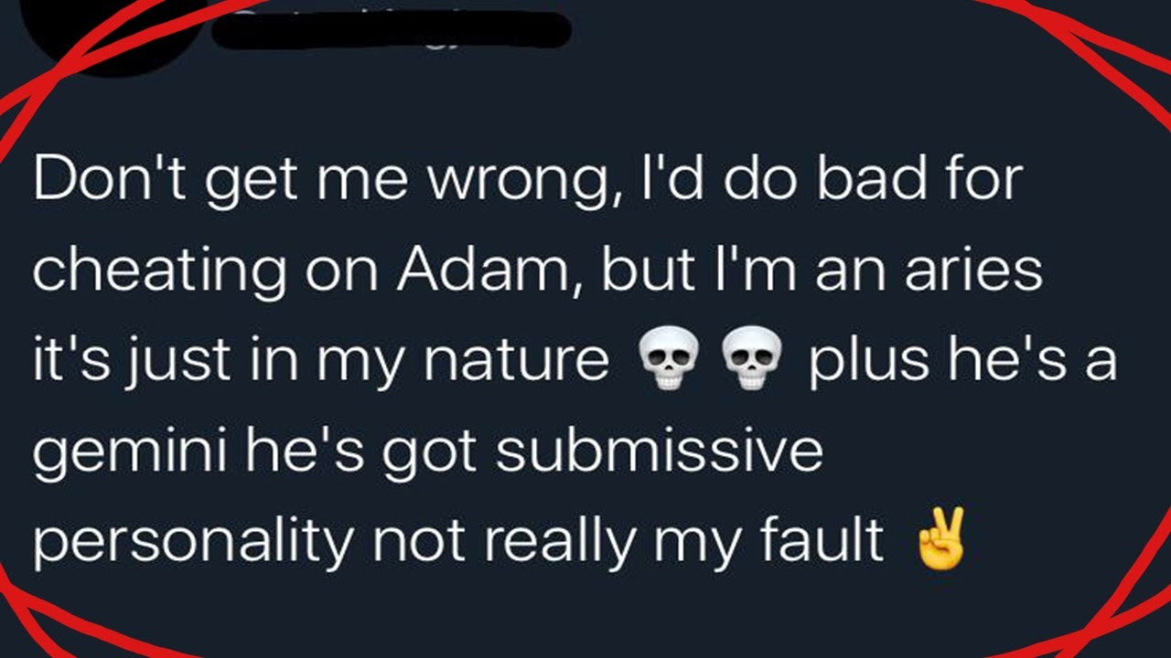 r/Trashy | It's Your Fault I Cheated
