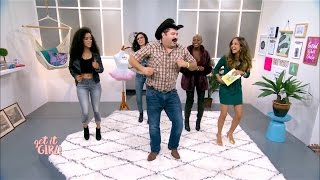 Tiburcio Gets Down on Get It Girl | Get It Girl