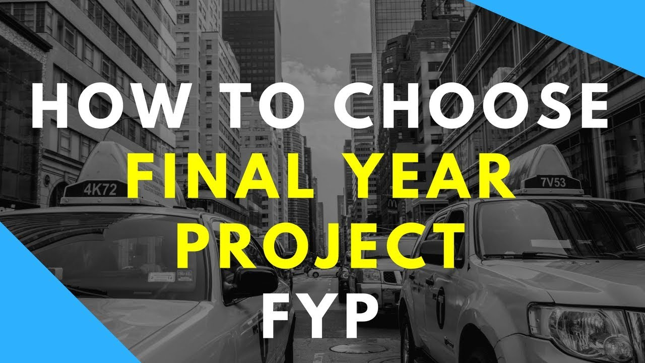 how to choose final year project topic | Select FYP ideas for CS computer  science in urdu hindi what