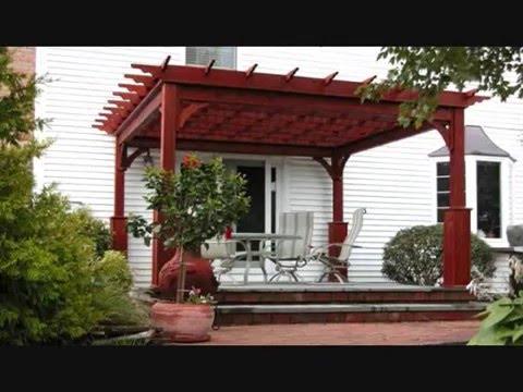 KANOPI  KAYU Minimalis  Rumah  terlihat Natural YouTube
