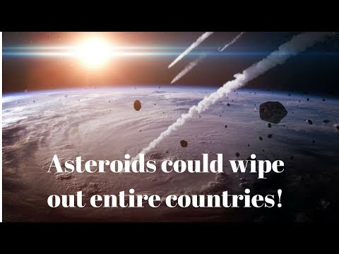 ASTEROID WARNING:1,000-Foot-Wide Asteroids could wipe out NATIONS 'hidden in Taurids meteor shower