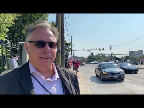 PRAYER RALLY FOR TRUMP: Michael Matt Outside President Trump's Hospital