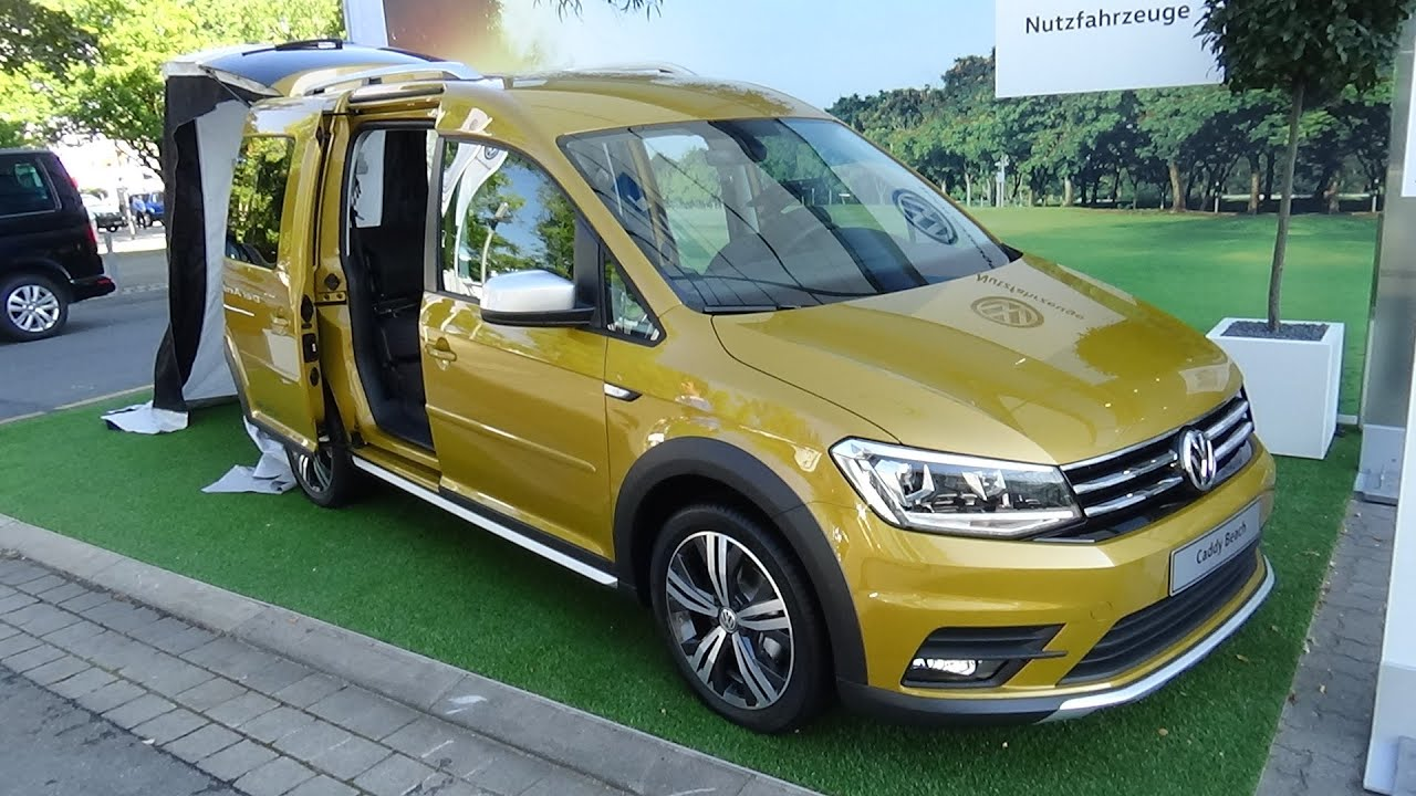 2017 volkswagen caddy beach alltrack exterior and. Black Bedroom Furniture Sets. Home Design Ideas