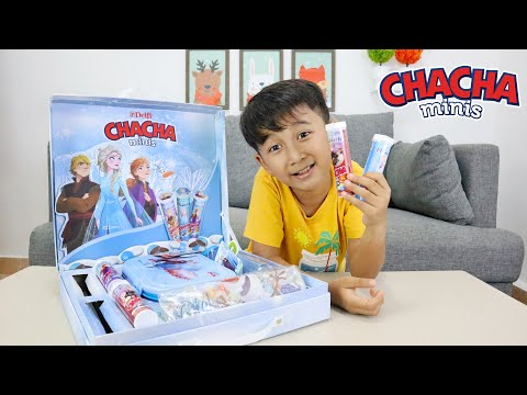 chacha-minis-edisi-frozen---ziyan-unboxing-hampers-chacha