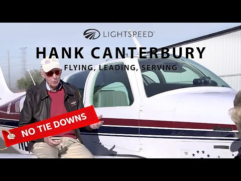 A Lifetime of Flying and Serving with HANK CANTERBURY