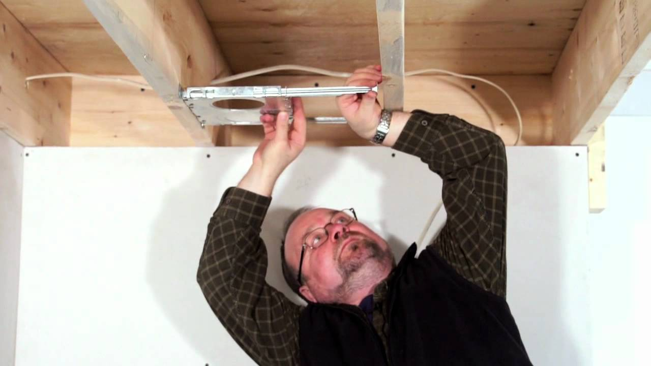 Bazz Recessed Lighting How To Install Recessed Lighting New Construction Youtube