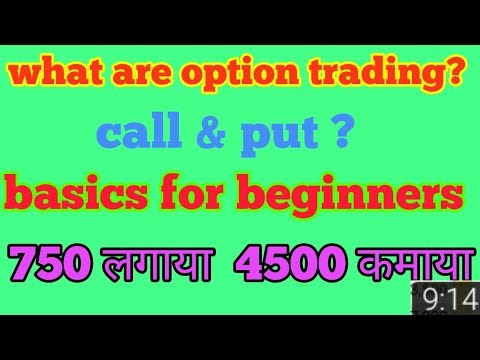 What is options trading  , learn about option trading call put ,