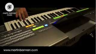 Bollywood Music (Yamaha Tyros) by Macedonian Musician Rami Mustafa (SAT1, Was guckst Du)