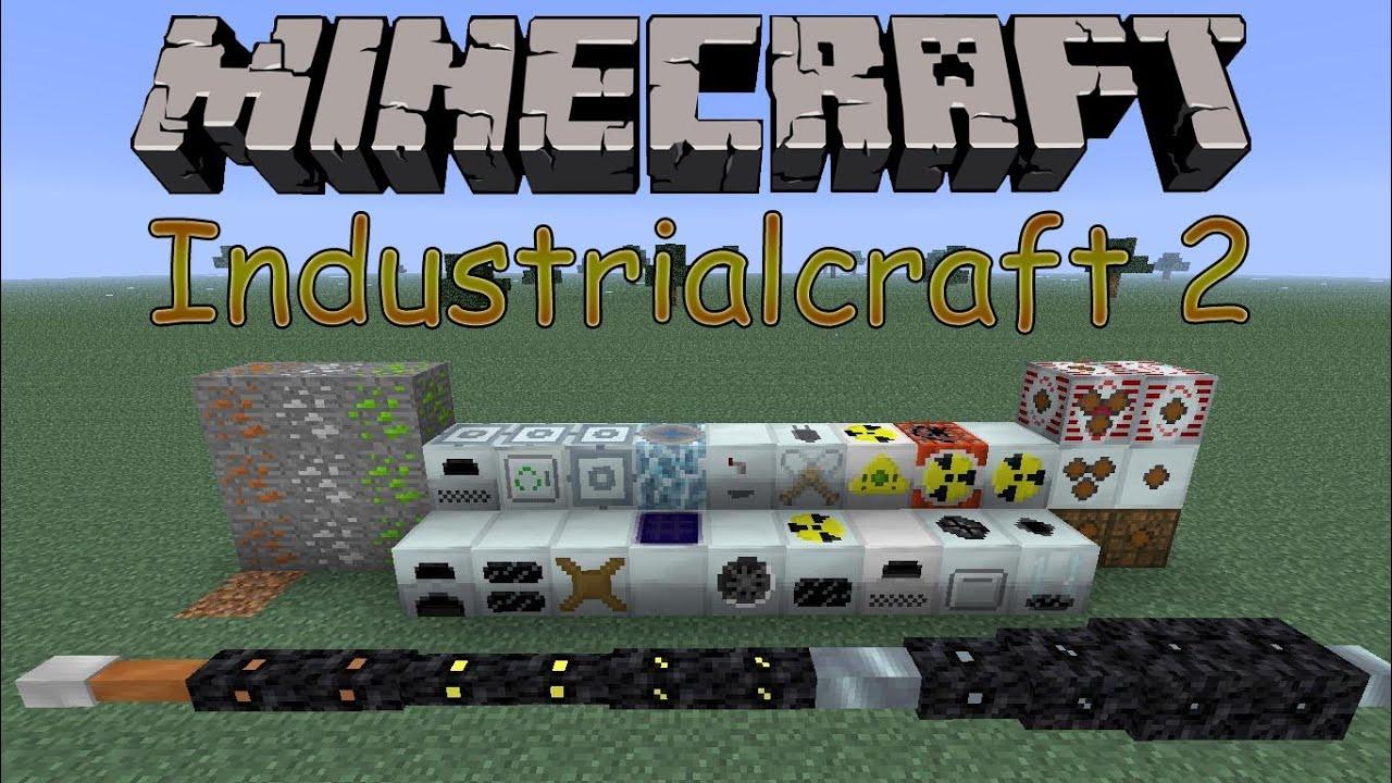 все крафты в моде industrial craft experimental на майнкрафт 1.7.2 #4