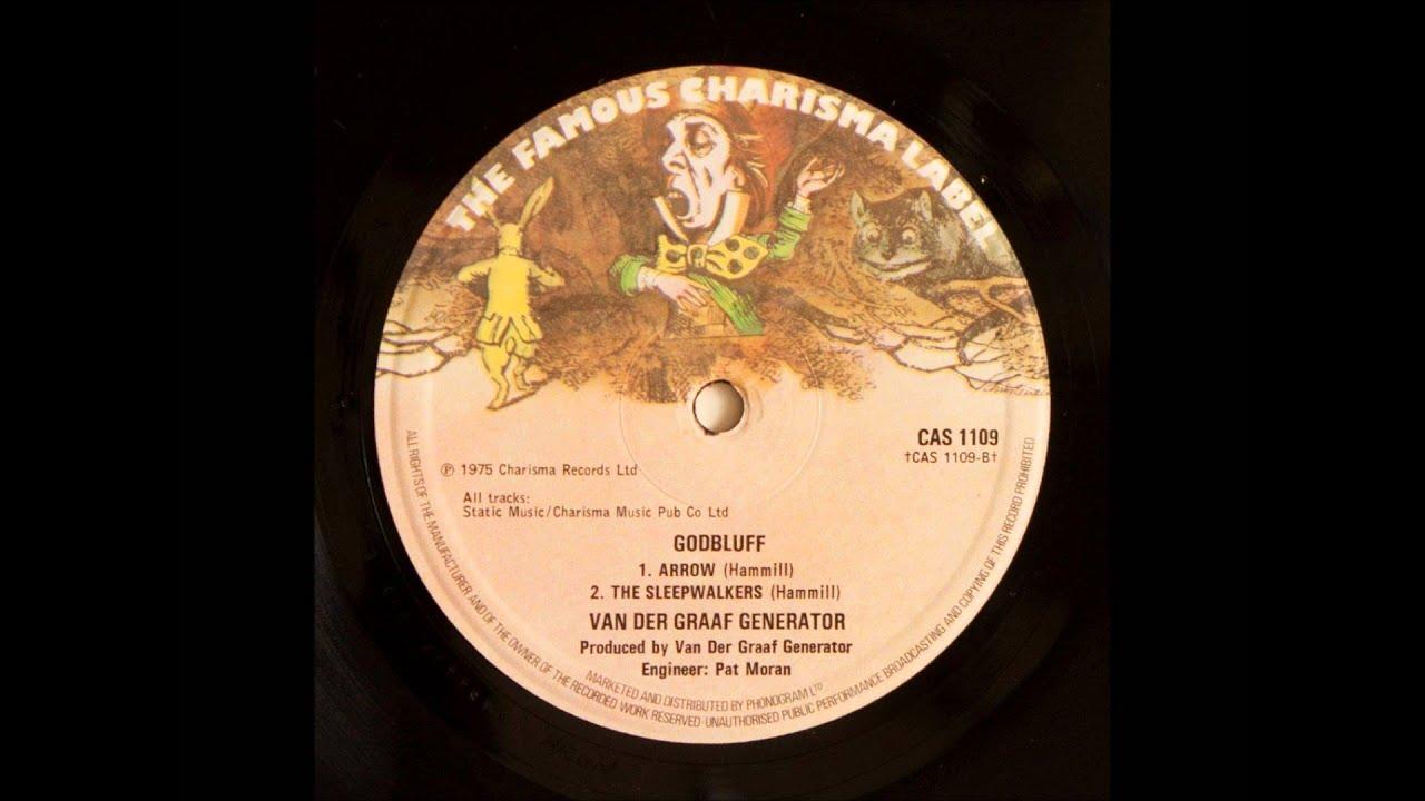 Quot Godbluff Quot Uk Charisma Cas 1109 Vinyl Van Der Graaf