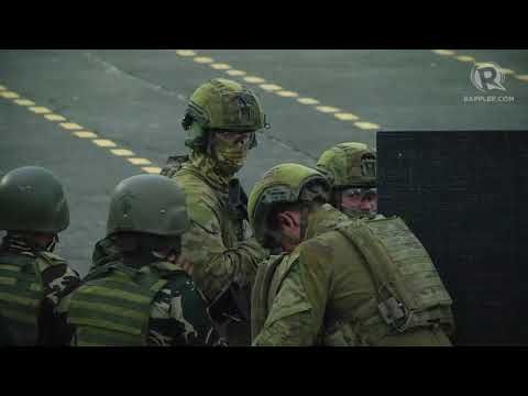 Turnbull visits Camp Aguinaldo, witnesses PH-Australia war game
