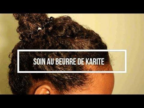 Beurre de karite pour cheveux crepu