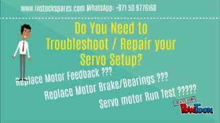 Servo Motor Repair _ Encoder Alignment - Encoder Memory Programming for All Brands at DUBAI