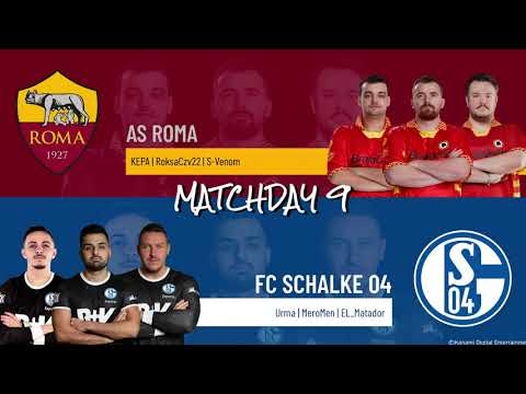 AS Roma vs. FC Schalke 04 | Highlights Matchday 9 eFootball.Pro IQONIQ 2020-2021