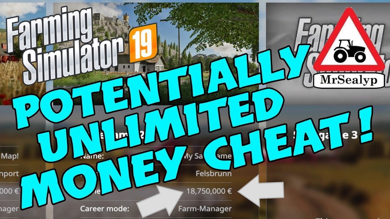 Farming Simulator 19 Ps4 Potentially Unlimited Money Cheat Special Episode Youtube