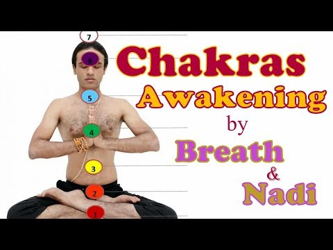 Chakras Awakening: How to use Breath & Nadi to activate Kundalini Power in Yoga