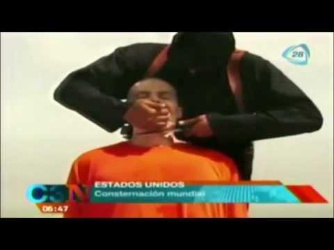 Video del asesinato del periodista James Foley es auténtico /  Video of the murder James Foley