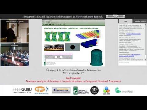 New materials and design methods in the concrete industry - Jan Červenka, ATENA,