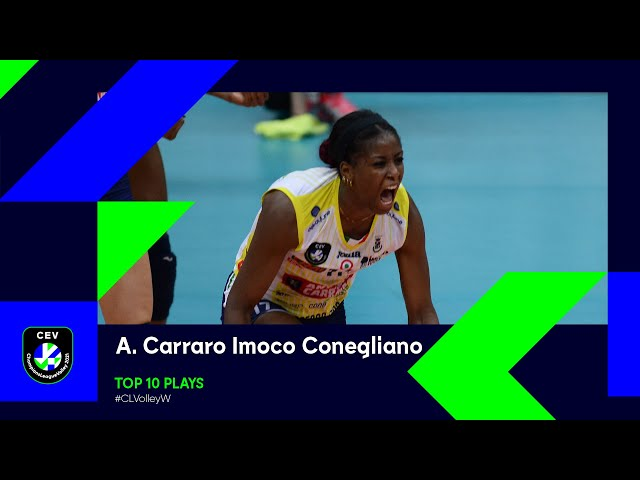 A. Carraro Imoco Conegliano - Top 10 Plays of the 2021 Season - #CLVolleyW
