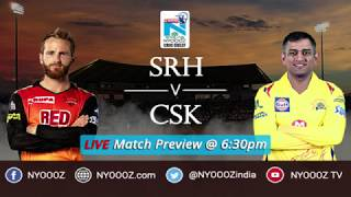 Qualifier 1 Srh vs Csk 2018 highlight