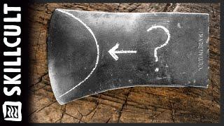 Axt Schleifen Dummy-Regel, die Fan-oder Halbmond-Muster, Was es damit auf sich?