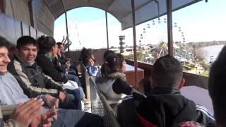 """40-D en la """"Carreta Desbocada"""" del Parque de la Costa!"""