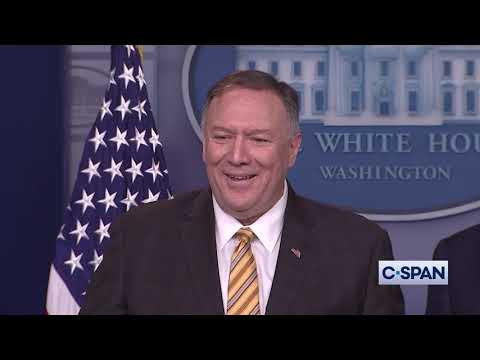 Secretaries Pompeo &