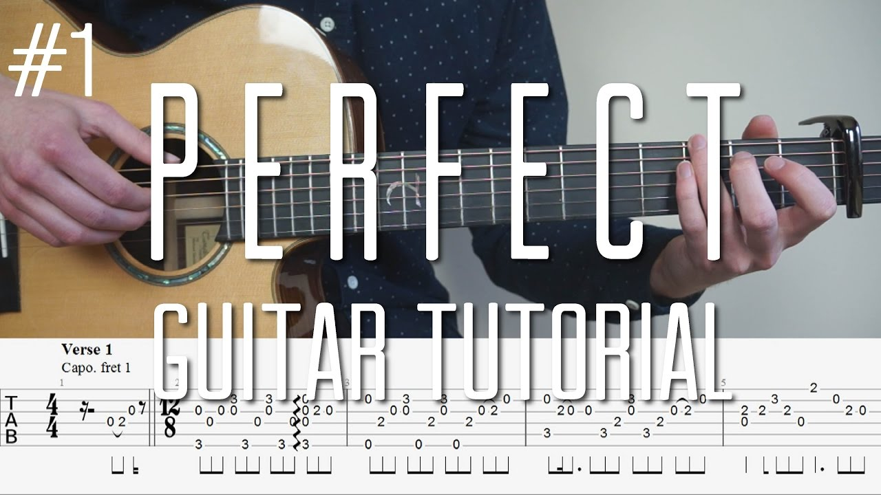 Fingerstyle Guitar Tutorial (lesson