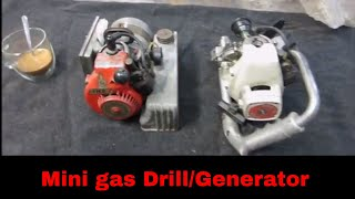 Will They Run?  Antique Mini Drill And Gen Set, Ohlsson & Rice Powered Engines