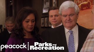 Gergich Meets Gingrich - Parks and Recreation
