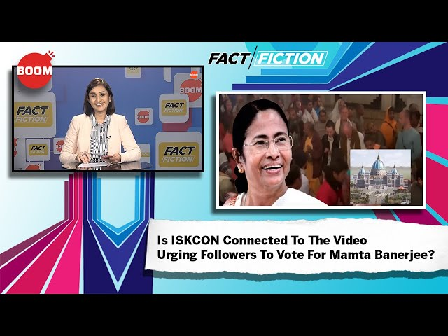Fact Vs Fiction: Is ISKCON Connected To The Video Urging Followers To Vote For Mamta Banerjee?