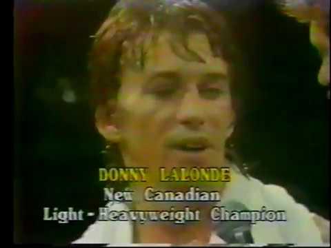 (Part 2) Donny Lalonde vs Roddy MacDonald - July 1983