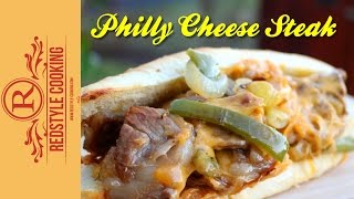 Philly Cheese Steak Sandwich -  Grillrezept