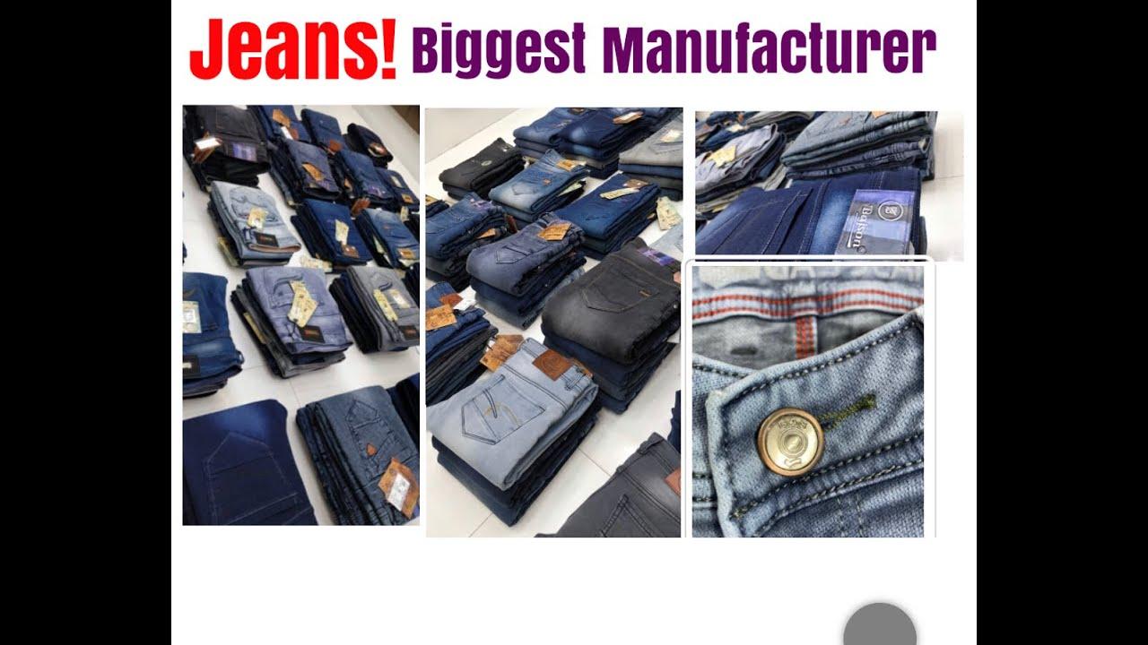 Branded Jeans Manufacturer in Delhi || Bajson Jeans Latest Design || Jeans Wholesale Market in Delhi