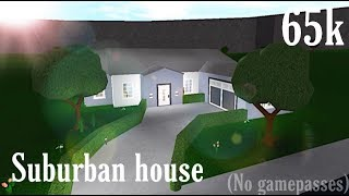 Suburban house (No gamepass) | Bloxburg-Roblox