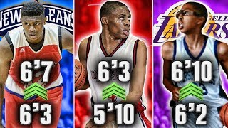 10 NBA Stars That Had Crazy Growth Spurts