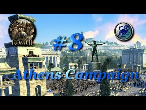 Total War: Rome II-Athens Campaign #8~Athenian Identity!