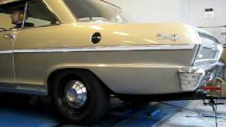 Chevy Nova Turbo Inline 6 Dyno