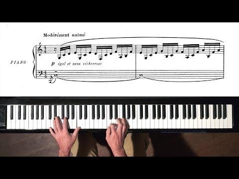 """Debussy """"Doctor Gradus ad Parnassum"""" Paul Barton, FEURICH HP piano"""