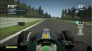 F1 2012 Gameplay ITA Sfida Campionato #2  Facevo prima ad andare a piedi