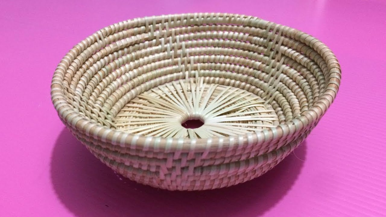 How To Make Rattan Bowl Making Wicker Bowls Step By Diy Paper Crafts