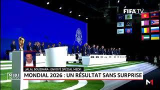 Mondial 2026: un résultat sans surprise