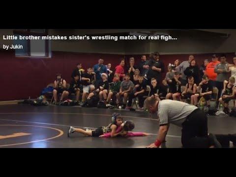 Wrestling 5 year old(2) - YouTube