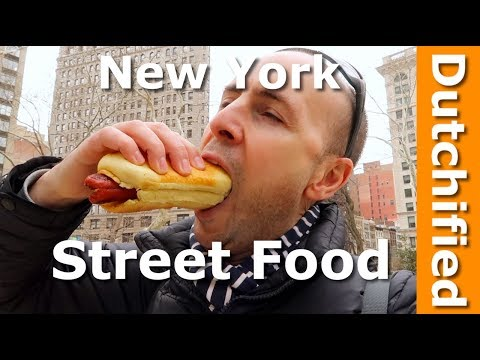 BEST Street Food In New York - NYC Street Food