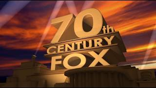 футаж 70th Century Fox Юбилей 70 лет